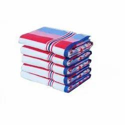 Multicolor Aakash Towel Luxury Stripes Bath Towel