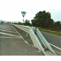 Three Beam Double Sided Crash Barrier