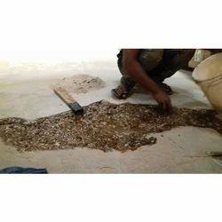 Damage Floor Repairing Work