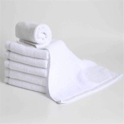 White Cotton Hotel Quality Hand Towel