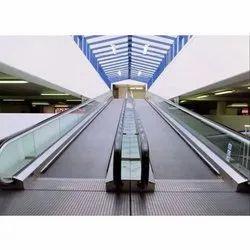 Airport Moving Walkway, Step Width: 800 mm