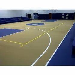 Indoor PU Basketball Sports Court Flooring