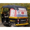 Outdoor Auto Rickshaw Branding Service, Mode Of Advertising: Offline