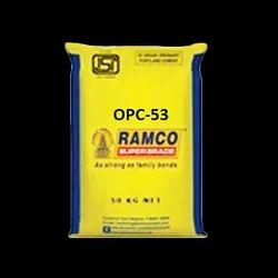 Grade: 53 Ramco Cement Opc 53