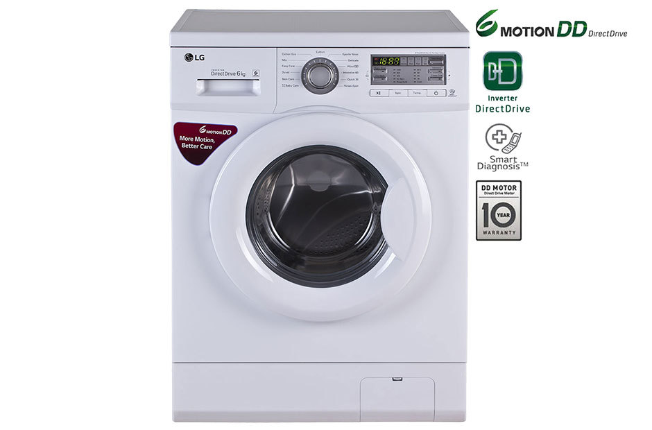 LG Front Load Washing Machine, 6 Kg