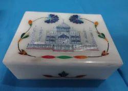 Marble Taj Mahal Design Boxes