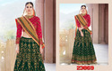 Viva N Diva Off White Color Net Bridal Lehenga