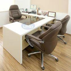 Wood Rectangular Office Furniture