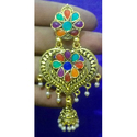 Gold Plated Afghani Earrings