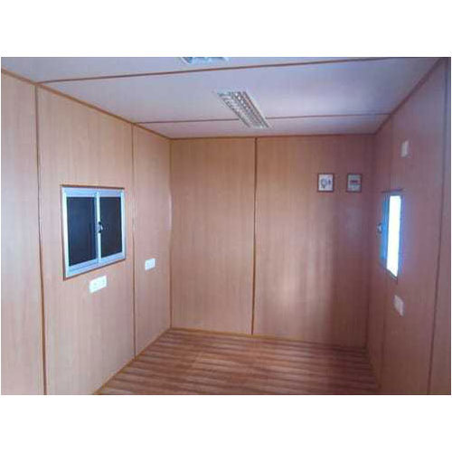 Grey Prefabricated House Container, Thickness: 15-18 Mm