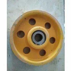 Direveter Wheel 400mm Dia, 10mm Rope, 7 Groove, For Elevator
