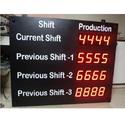 Led Production Display Monitor, Display Digit: 4