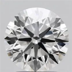 2.12ct Lab Grown Diamond CVD F VS1 Round Brilliant Cut IGI Certified Stone
