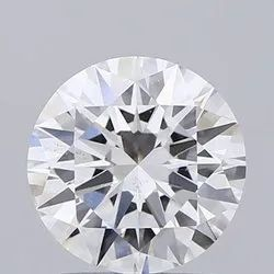 1.60ct Lab Grown Diamond CVD F VS2 Round Brilliant Cut IGI Crtified Type2A