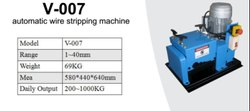 Velocity Wire Stripping Machine VE007, Automation Grade: Automatic
