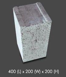 Rectangular Solid Concrete Block
