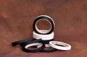 White & Black Cotton Cloth Tapes