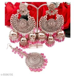 Pink Designer Earrings
