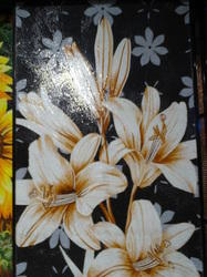 Glass Mosaic Flower Tiles