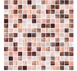 Random Mix Glass Mosaic Tiles