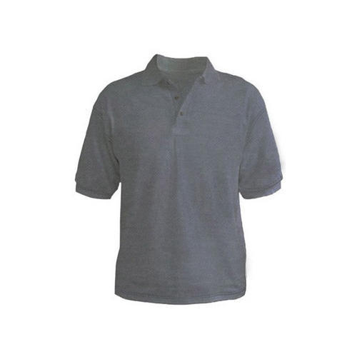 e56bb64703ba Polo T Shirt Mens Grey Melange Polo T Shirts, Rs 190 /piece   ID ...