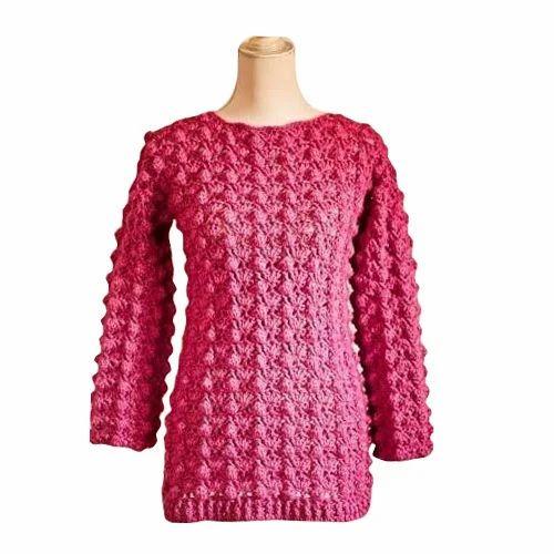 d0b8d1d7428 Pink Ladies Party Wear Sweater