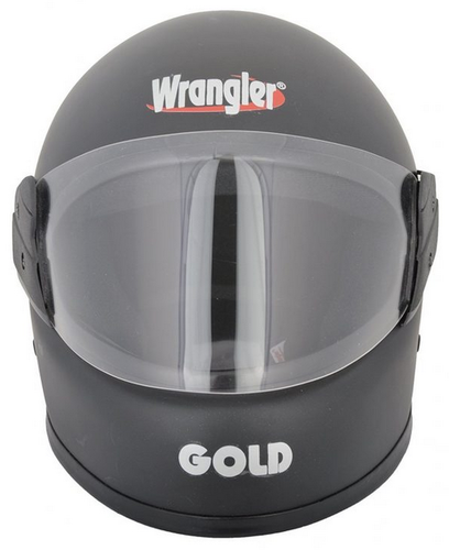 8ea6c071 Black Helmet Wrangler Gold Full Face, Rs 690 /piece, Radiant Auto ...