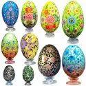 Paper Mache Easter Egg Custom Designed Easter Eggs