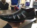 Black Roman Sandals For Men, Size: 6 To 10