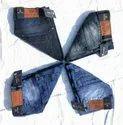 Cotton Lycra Slim Fit Wud N Berg Dobby Jeans