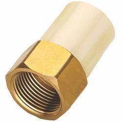 CPVC Brass Hex Female Thread Adapter