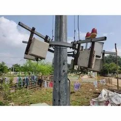 Electrical Lighting Pole Repair And Maintenance Work, LED Light