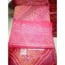 Zari Printed Chanderi Fabric, Use: Mataji Ki Chunari
