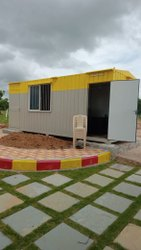 Solar Off-Grid Container Office