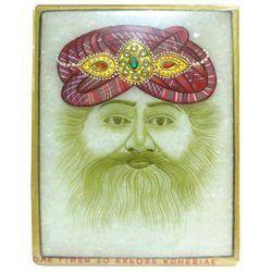 Marble Maharaja Painting
