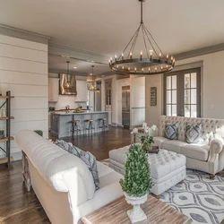 Plywood Modular Kitchen & Wardrobe Farm House Interior Designing