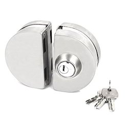 Double Door Lock with Key