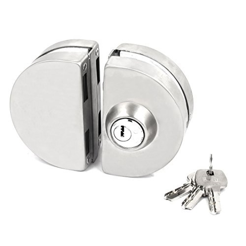 door lock and key black and white. Double Door Lock With Key And Black White