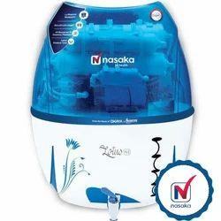 Nasaka Domestic RO Water Purifier, Capacity: 10-15 L And 10-13 L