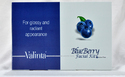 Valinta Blueberry Facial kit