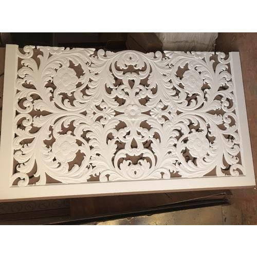 Wooden Decorative Flower Grill