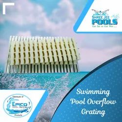Swimming Pool Overflow Grating