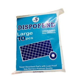 Dispofend Large Bed Underpad, Size: 60 x 90 cm