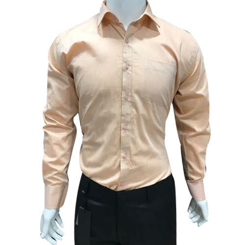 7275f3f36 Cotton Linen 38 To 44 Plain Formal Shirt