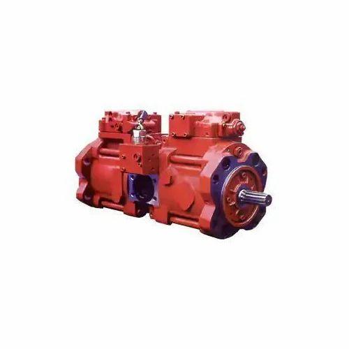 Mild Steel Kobelco Hydraulic Piston Pump, Electric