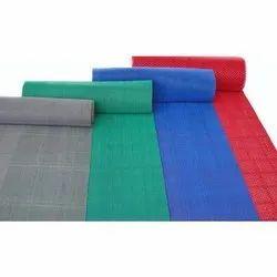 De Decor Rectangular PVC Designer Carpet, Packaging Type: Roll