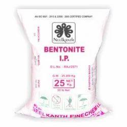 Powdered Bentonite IP, Packaging Size: 25 Kg