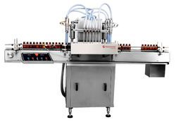 Siddhivinayak Automation Automatic Liquid Bottle Filling Machine, Capacity: 80-120 Bottles per minute , 1-2 HP