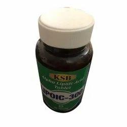 KSB Tablets Alpha Lipoic Acid Tablet, Packaging Size: 60 Tablets, Packaging Type: Plastic Bottle