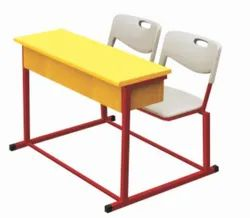 DF-609 (3) Dual Desk Bench